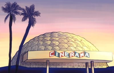 Illustration of Arclight Cineramadome in Hollywood