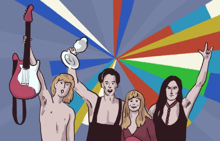 Illustration of artists from Eurovision