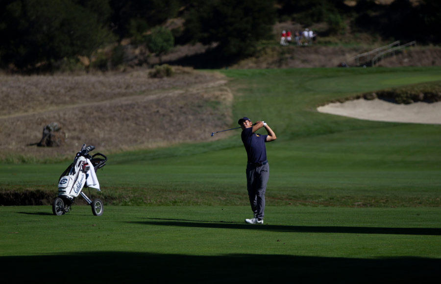 photo of Cal men's golf player