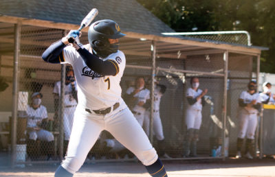 photo of UC Berkeley softball player