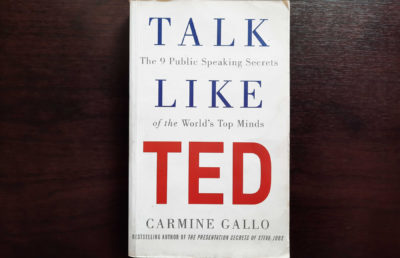 photo of Talk Like Ted book