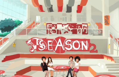 Illustration of the High School Musical: The Musical cafeteria