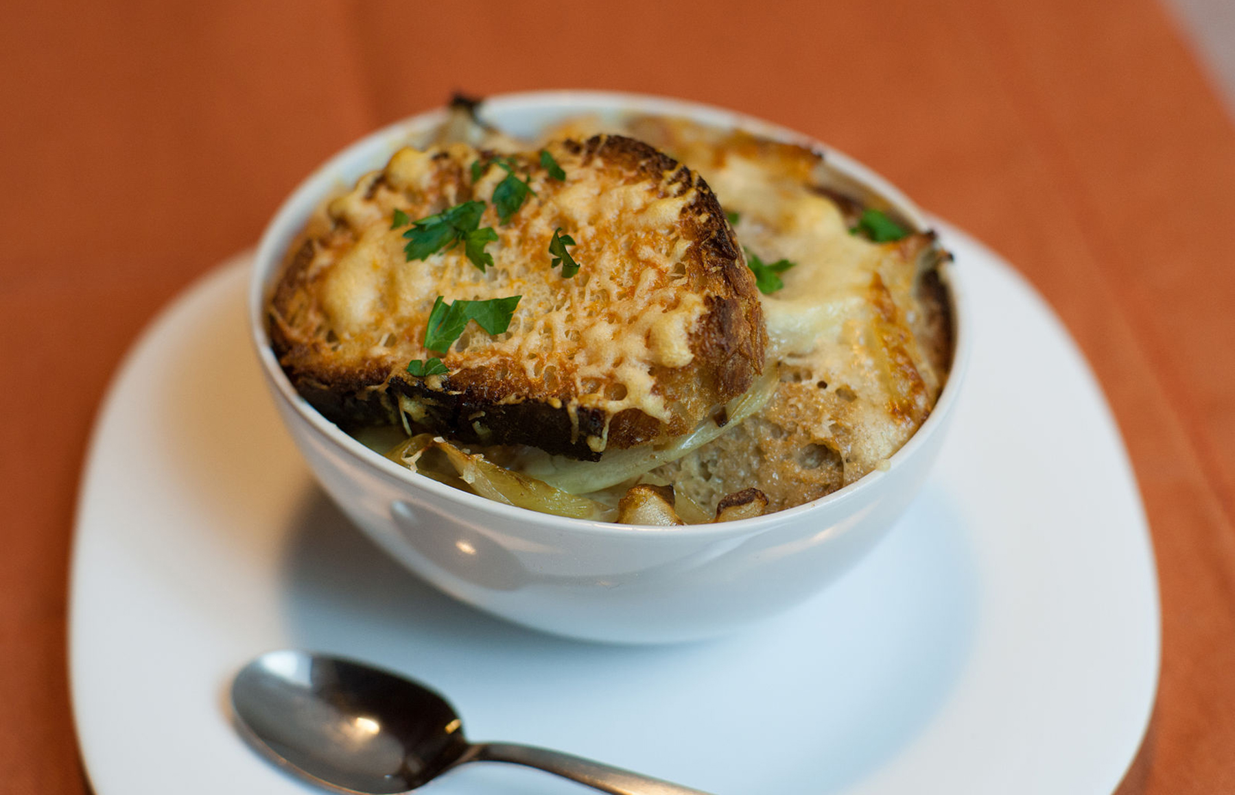 Sweet, savory and salty: French onion soup