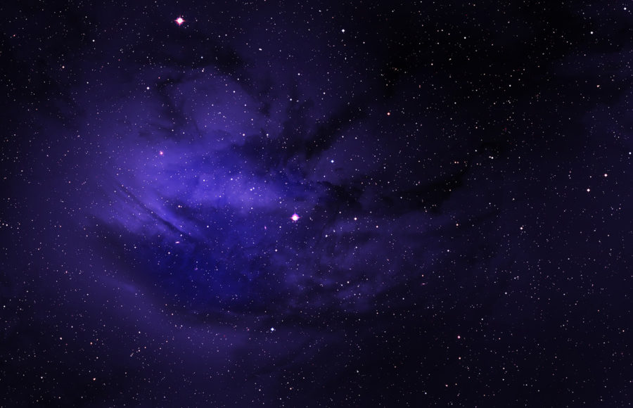 Photo of space and stars