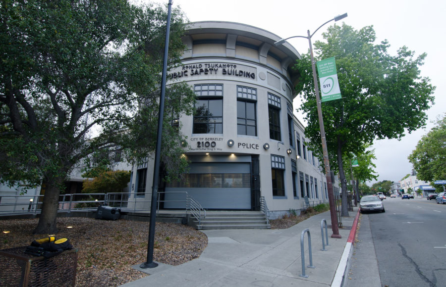 photo of the Berkeley PD building
