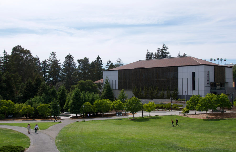 photo of UC Berkeley's East Asian Library and the lawn