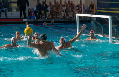Photo of a Cal Men's Water Polo match
