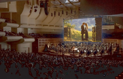 Photo of the San Francisco symphony playing the Princess Bride score