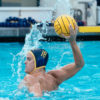 Photo of a Cal men's water polo player