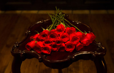 photo of the roses given to contestants on The Bachelor