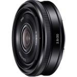 sony 20mm f28 e-mount lens