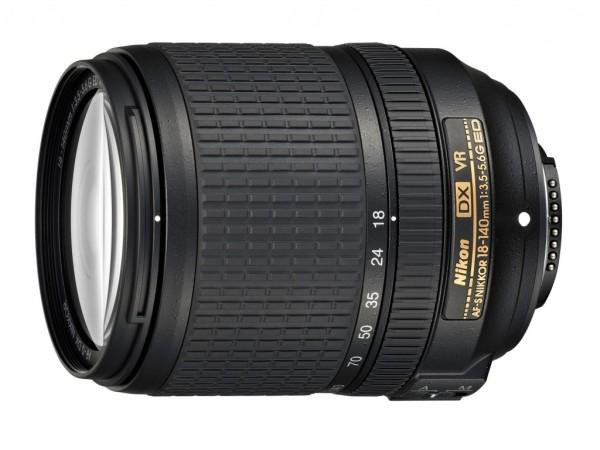 AF-S DX NIKKOR 18-140mm f/3.5-5.6G ED VR lens