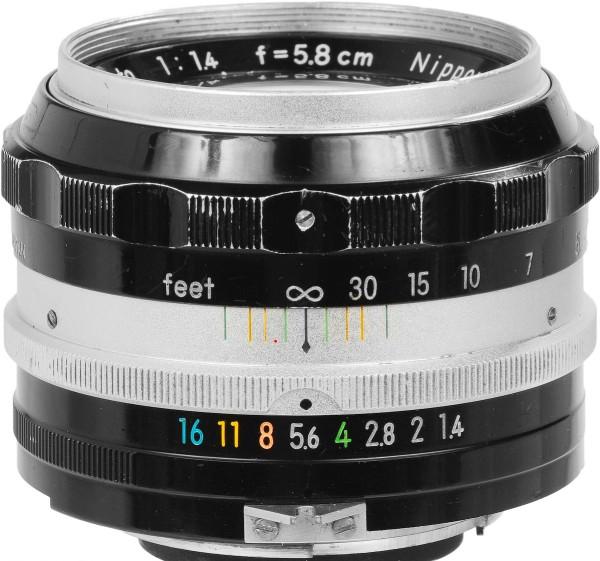 nikkor_58mm_f14_lens