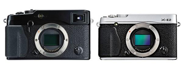 Fujifilm-X-Pro1-vs-X-E2