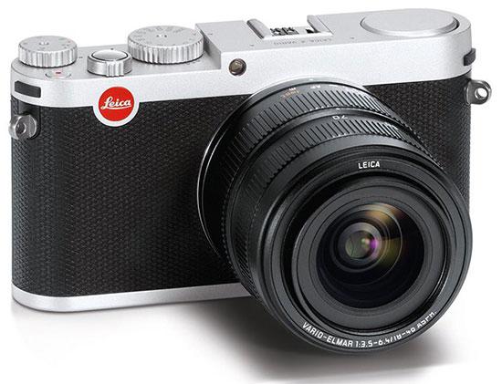 Leica-X-Vario-camera-with-silver-finish