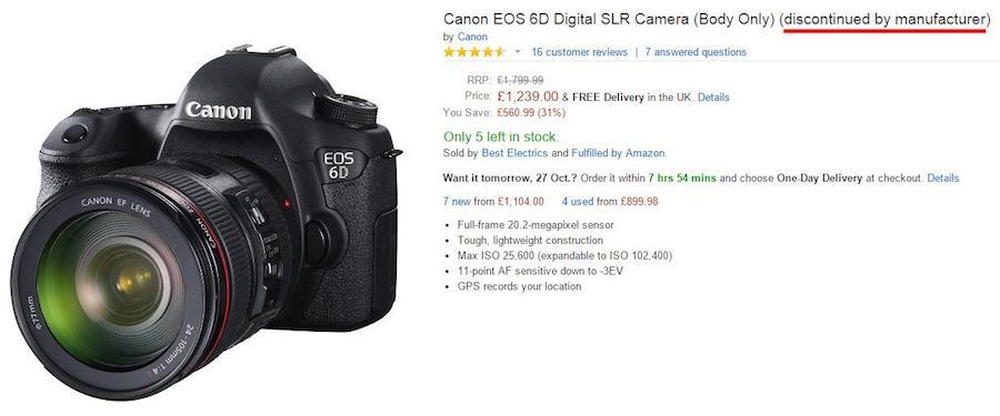 Canon 6D Mark II Coming Soon - Daily Camera News