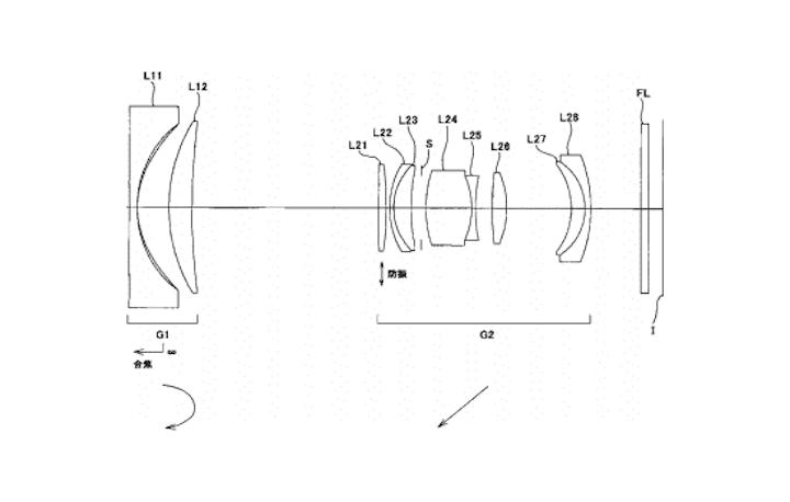 Nikon Lens Patent for Full Frame Mirrorless Cameras