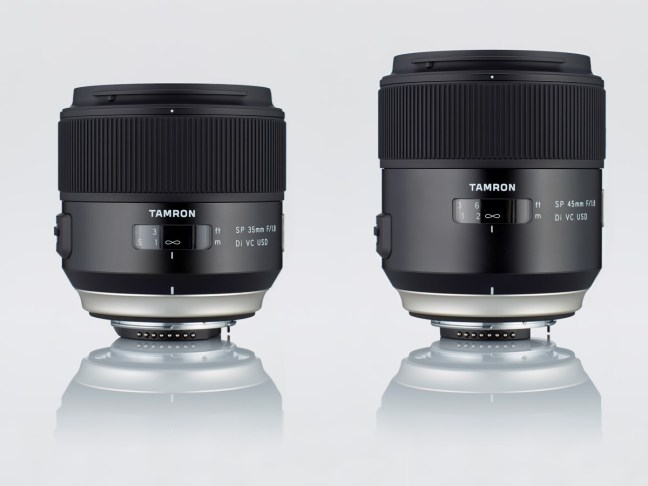 tamron-announces-sp-35mm-f1-8-di-vc-usd-and-sp-45mm-f1-8-di-vc-usd-lenses