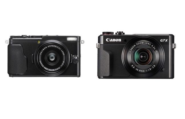Fujifilm X70 vs Canon G7X Mark II Comparison