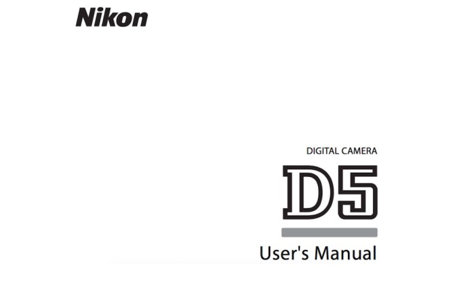 nikon-d5-users-manual-available-online