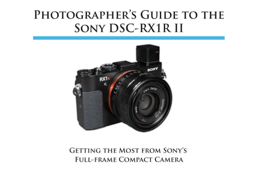 Sony DSC-RX1R II Book Covering Whole Camera Details