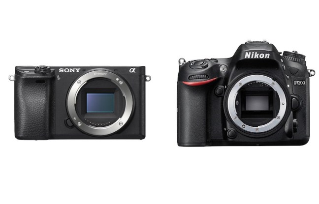 Sony A6300 vs Nikon D7200 Comparison