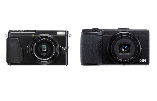 Fujifilm X70 vs Ricoh GR II Comparison