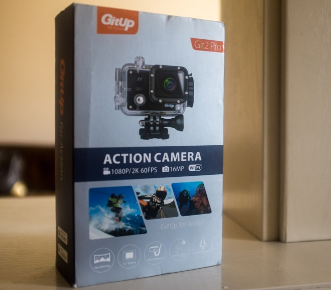 Git 2 Gitup Action Camera Review Box