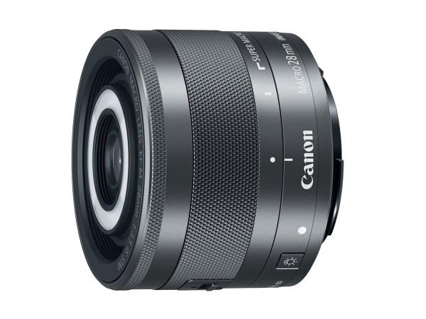 Canon EF-M 28mm f/3.5 Macro IS STM lens rear