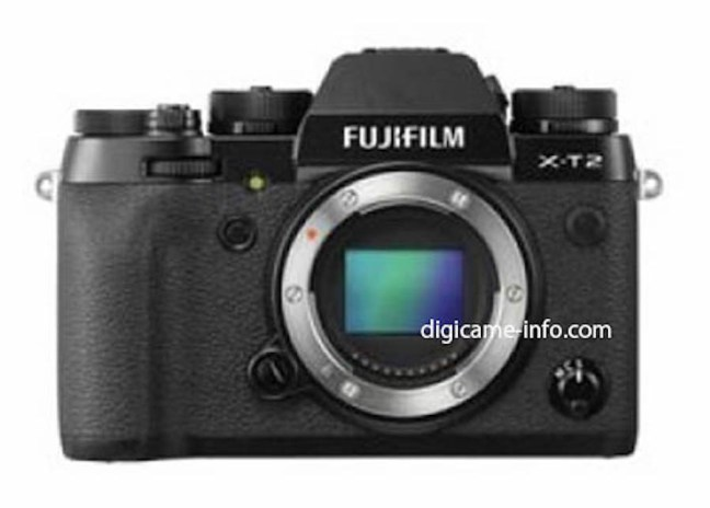 Fujifilm X-T2 specs leaked online, coming on July 7th