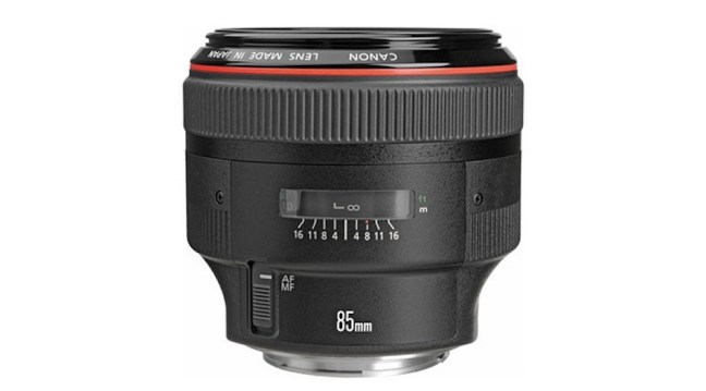New Canon EF 85mm f/1.4L IS USM lens rumored once again