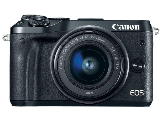 Canon EOS M6 mirrorless camera officially announced