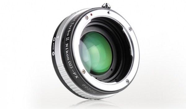 Mitakon launches Turbo II Nikon FX to Fuji X adapter