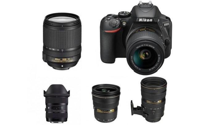 Best Lenses for Nikon D5600 DSLR camera