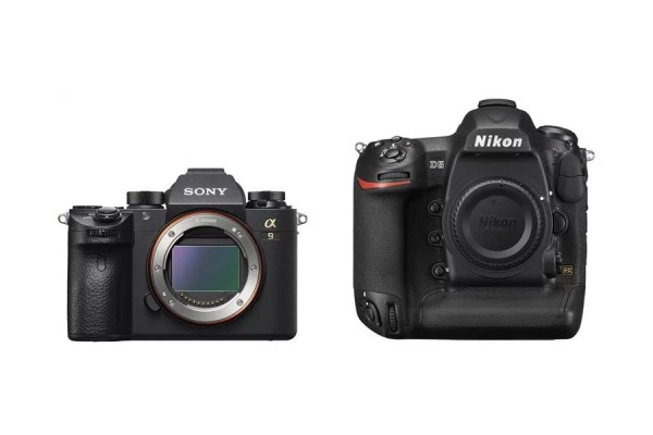 Differences between the Sony A9 vs Nikon D5 Cameras