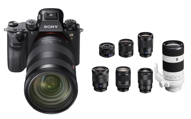 Best Lenses for Sony A9 Mirrorless Camera