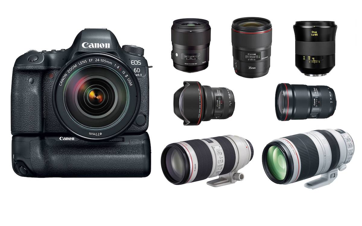Best Lenses For Canon Eos 6d Mark Ii Daily Camera News