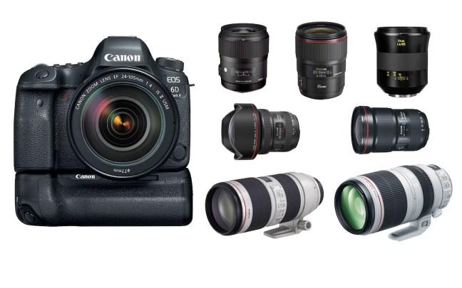 Best Lenses for Canon EOS 6D Mark II