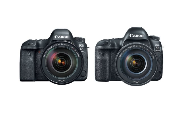 Canon 6D Mark II vs 5D Mark IV vs 5D Mark III Comparison