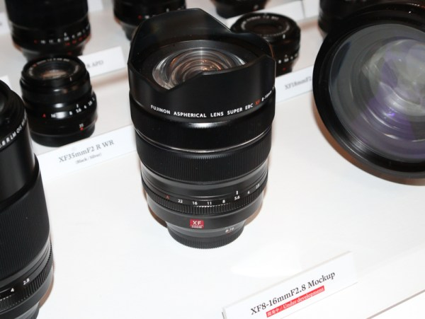 Fujifilm XF 8-16mm f/2.8 R LM WR Lens Coming at Photokina 2018