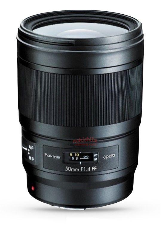 Tokina Opera 50mm f/1.4 FF lens coming soon for full frame DSLRs