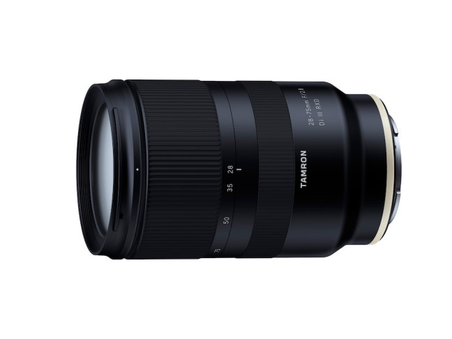 Tamron 28-75mm F/2.8 Di III RXD lens now available for pre-order