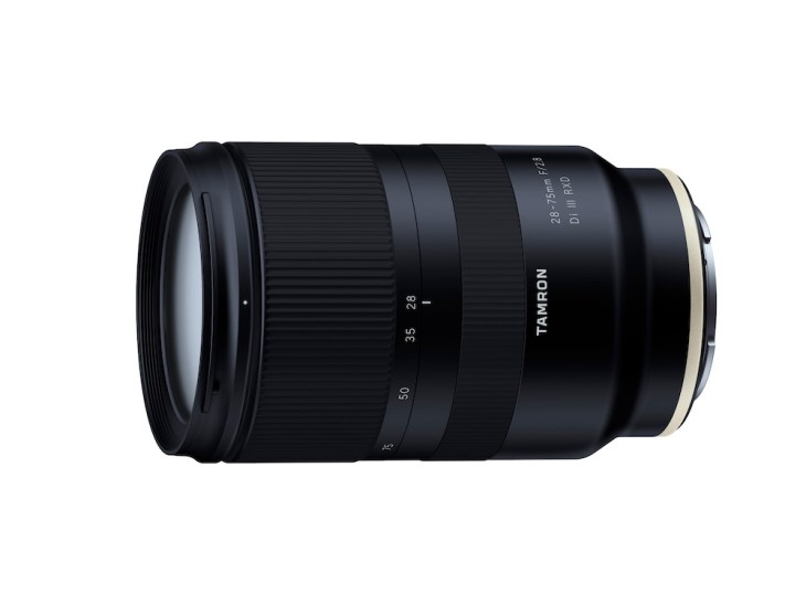 Tamron 28-75mm F/2.8 Di III RXD Lens Announced for Sony E-Mount