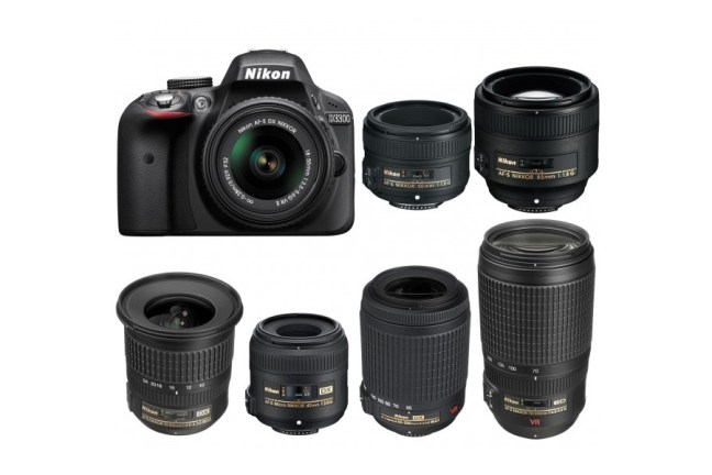 Best Lenses for Nikon D3300