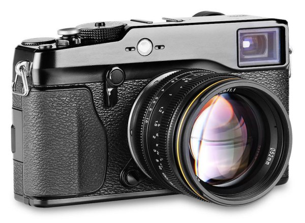 Kamlan 50mm/f1.1 lens now available for Fuji X-mount