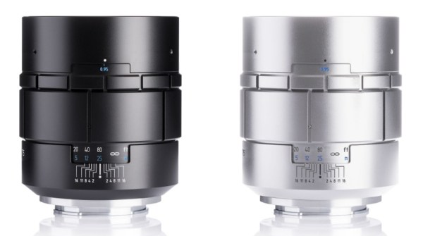 Meyer Optik Nocturnus 75mm f/0.95 mirrorless lens announced