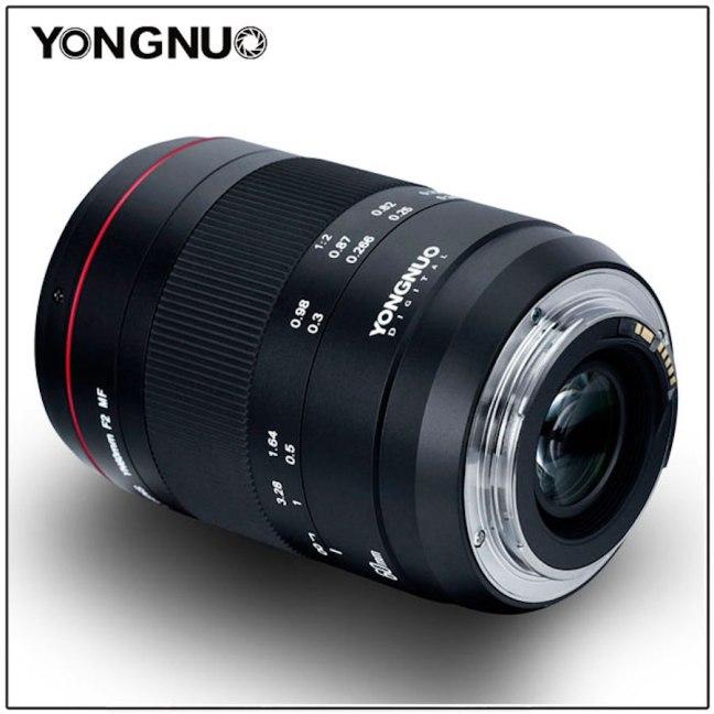 Yongnuo unveils YN 60mm F2 MF macro lens