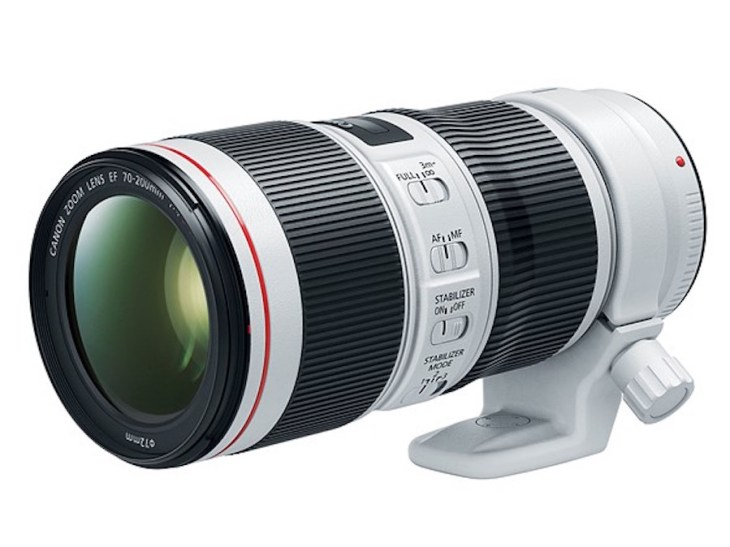 Canon EF 70-200mm f/4L IS II USM Lens Officially Announced