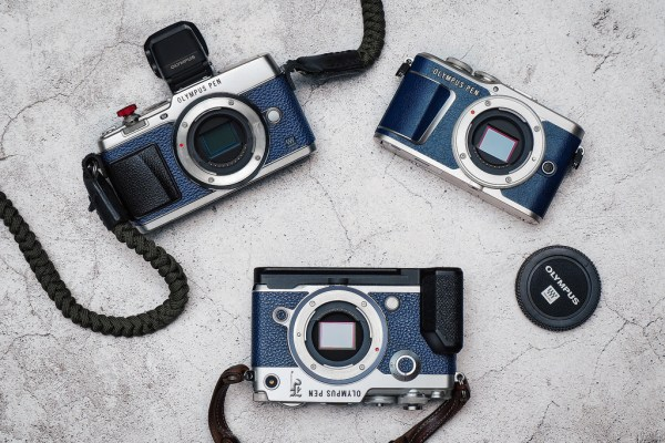 Olympus Blue PEN-F Camera Coming Soon