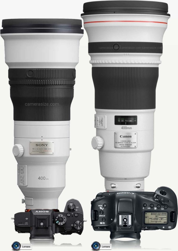 More Sony FE 400mm f/2.8 GM OSS lens information (SEL400F28GM)